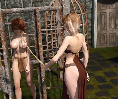 3D Lesbians 24