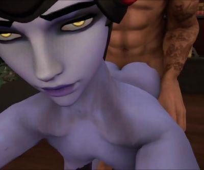 Widow Maker Overwatch Hentai