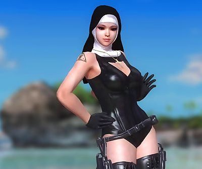 Dead or Alive 5 1.09BH - The Nuns Dance on the Beach