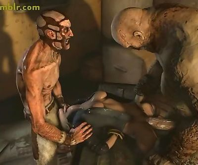 3D Monster Hardcore Animations