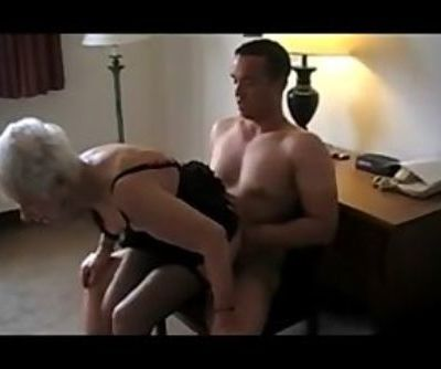 89 Yr. Old Granny Fucked hard and scream