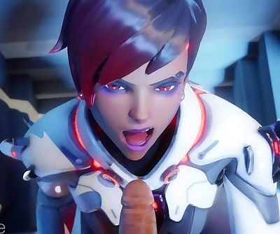 Overwatch Sombra Blowjob