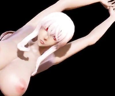 3D MMD Kirara Dances to Breathe On Me
