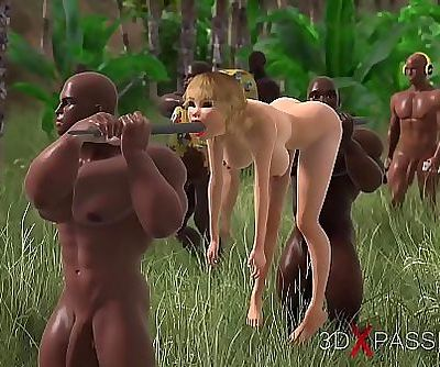 TRIBE, BIG DICK. 3dxpassion.com 4 min 720p
