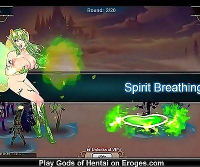 GODS OF HENTAI Game walkthrough 2 30 min 720p