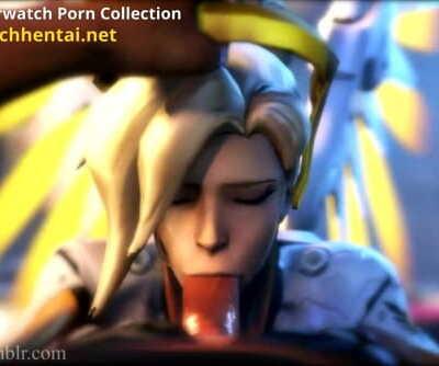 Best of Mercy Animated- Overwatch