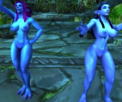 Warcraft Troll Girls