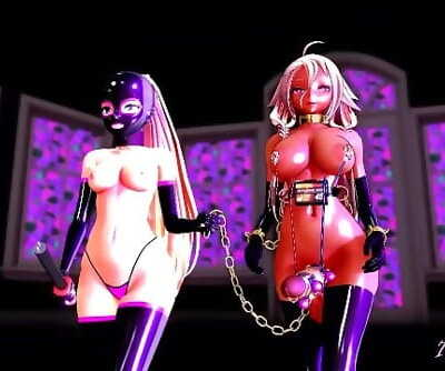 MMD SEX Discipline Demonstration with Futanari FULL VIDEO