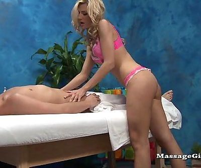 Amanda stripping to suck massage teen - 9 min