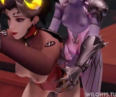Mercy and Widow Anal Animation by Wiloh95