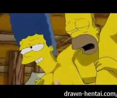 Simpsons Porn - Threesome