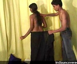 Desi teen girl in passionate..