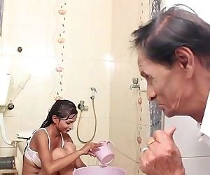 Hot Baby Bathing and sex with..