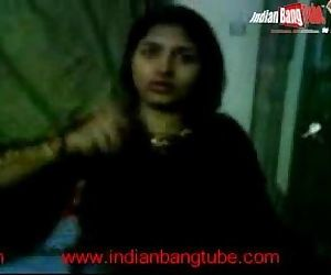 Indian girl friend with her..