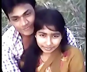 Cute Desi village girl boobs..