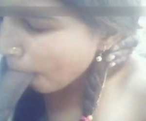 Indian Village Girl Blowjob Cum..