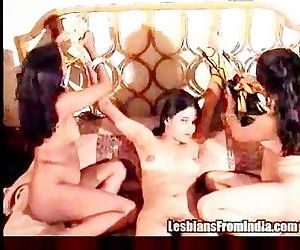 3 Indian Girls Have Fun