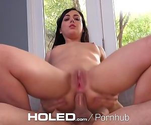 HOLED Petite Whitney Wright tries to fit big dick in her..