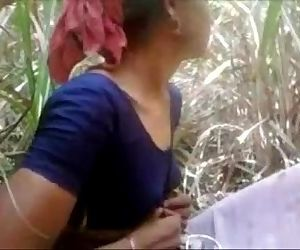 Indian Desi Village Aunty Getting Fucked Outdoor -..