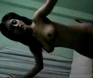 Horny Indian Bengali wifes Nude dance & penis in boobs b4..