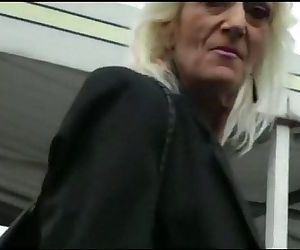 IMWF- Nasty White French Granny fucks with black indian..