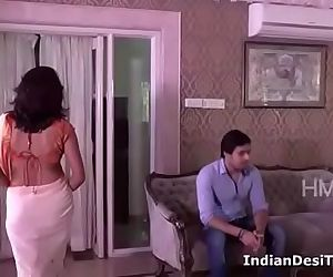 Indian Desi Hot HouseWife Trapped n Seduced Young..