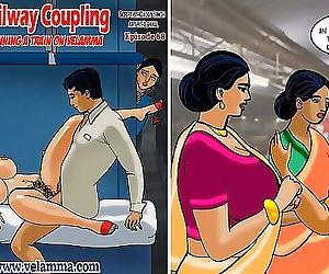 Velamma Episode 68Railway Coupling – Running a Train on..