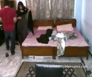 Indian Couple Honeymoon - IndianHiddenCams.com - 2 min