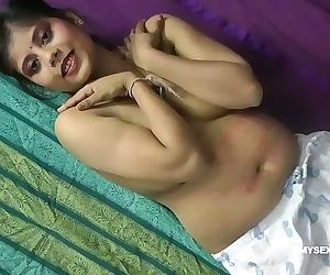 Indian Pornstar Rupali Taking Lingerie Off To Show Big..