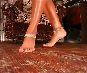 Desi peeping tom has a fetish for feet and anklets naked..