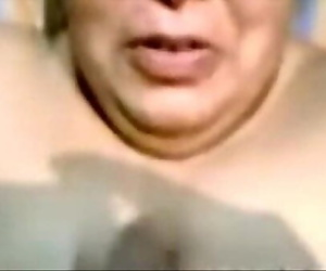 Indian Aunty Blowjob And Cumshot on Face 8 min