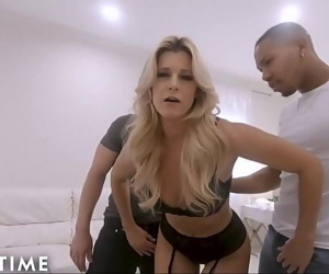 ADULT TIME Ur MILF Wife India Summer Cucks U with 2 Hung..