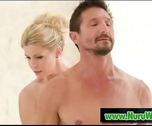 India Summer & Tommy Gunn prepared for nuru massage 6 min