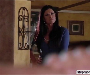 Hot MILF Stepmom India Summer for threesomes with her..
