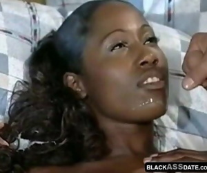 African model in a sexy interracial hardcore 11 min