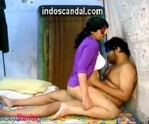 Cock riding on cam by busty Indian wife indoscandal.com 3..