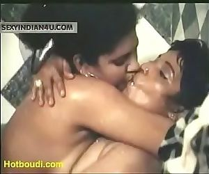 Yummy Hot Hostel girls Full Nude in Lesbian act in bedroom..