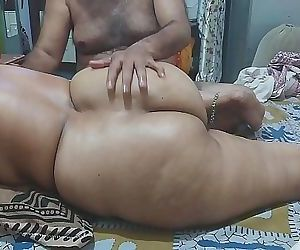 Full body massage followed by munching on wet pussy,..
