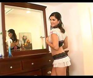 Sunny Leone In New Hot Micro Miniskirt