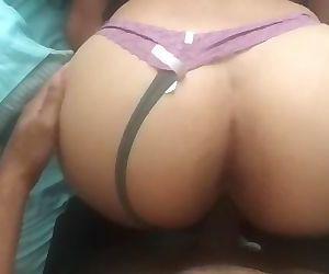 Big Ass Asian nurse loves bouncing on Black Dick