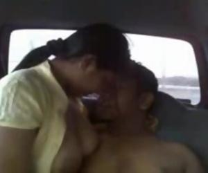 Delhi car sex scandal....