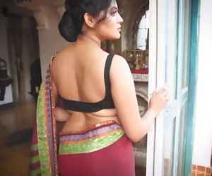 Saree photoshoot Triyaa sexy photoshoot