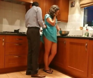 Indian desi bhabhi pays sons tutor with sex dirty hindi..