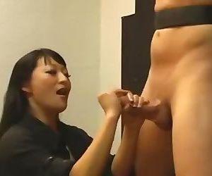 Asian Femdom Handjob