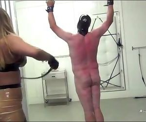 Japanese brutal whipping asian..