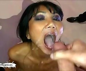 Epic Cum slut battle - Busty..