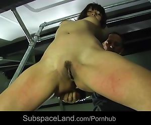 Asian slut Marika Haze harsh used..