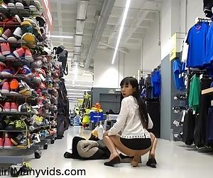Gets Busted In A Sports Store,..