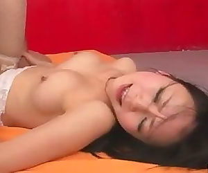 Hot creampie asian porn with..