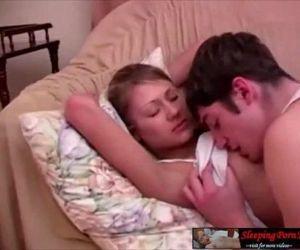 Sleeping porn of sweet teen girl..